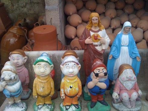 Natale tutti in famiglia (foto scattata a Napoli e raccontata in (bav)Auguri di Natale )