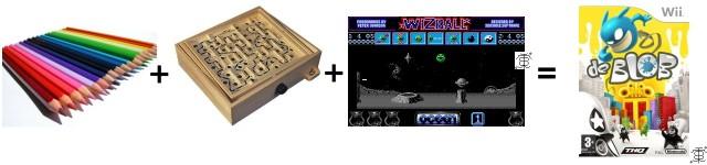 Somma algebrica emozionale: de Blob (Nintendo Wii)