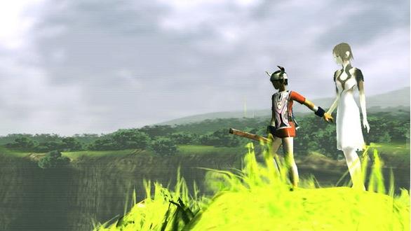 Yorda e Ico, mano nella mano...il gioco è tutto lì.