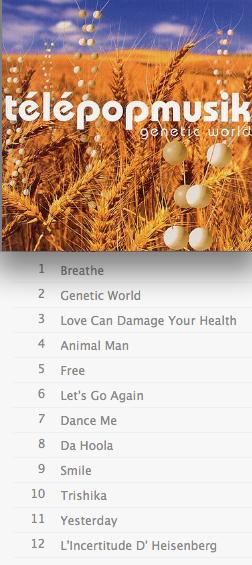 Genetic_World+tracklist