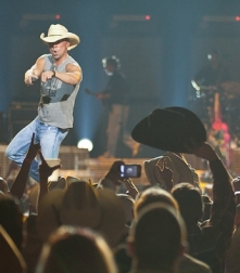 Kenny Chesney at the Saddledome