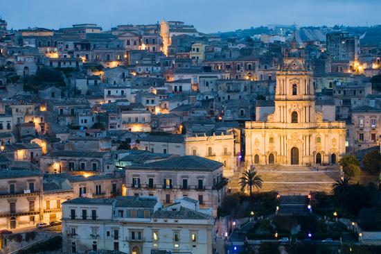 Italia: Modica - Panorama