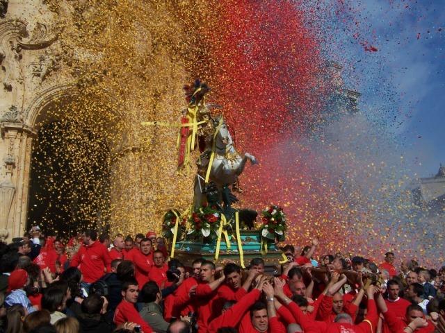 Italia: Modica - Festa di SanGiorgio