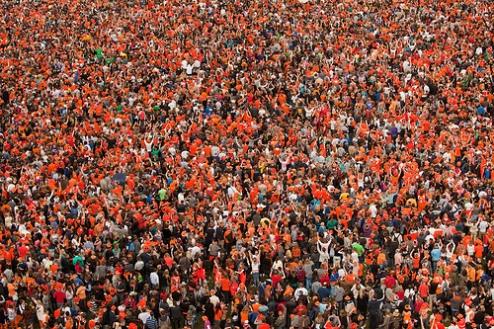 Olanda: Amsterdam - Koninginnedag