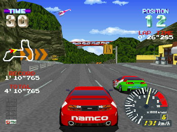 Ridge Racer Revolution (Playstation, Namco 1996)