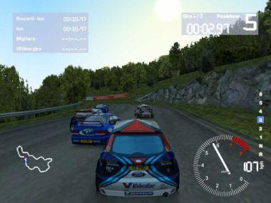 Colin McRae 2.0 (PC) - Impreza, Focus e mi pare di vedere un angolino rosso di una Peugeot