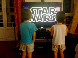 Star Wars a 4 anni. Grazie Lucas