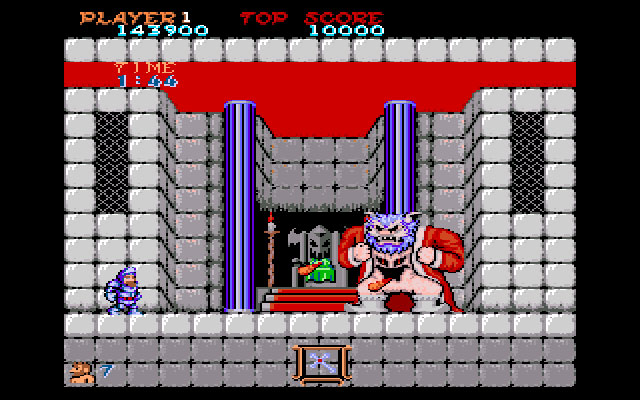 Ghosts 'n Goblins Boss finale