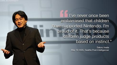 Satoru-iwata-children-support-Nintendo