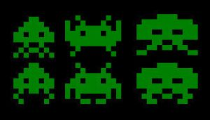 Space Invaders. The do not came in peace