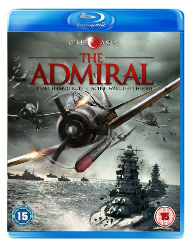 copertina di The Admiral Blu-ray