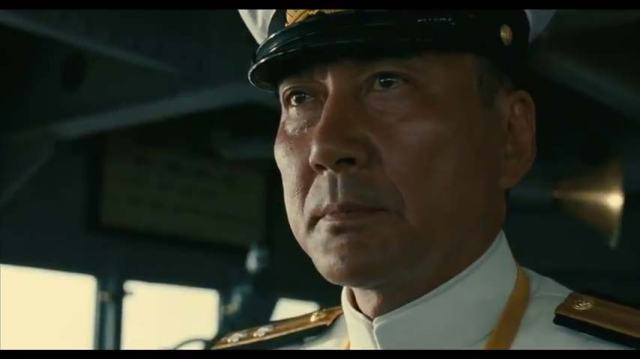 L'ammiraglio Yamamoto (Kôji Yakusho) sul ponte di comando