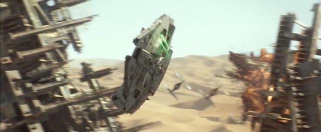 Fotogramma n.11 di Star Wars VII: analisi (poco seria) del trailer #3