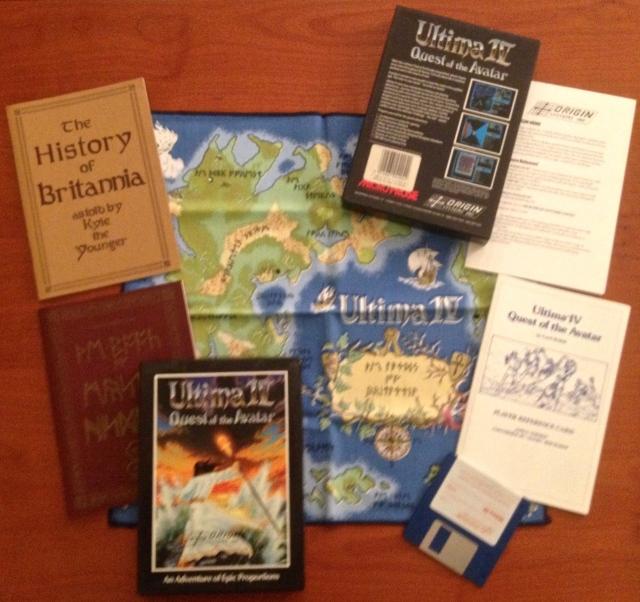 foto contenuto Ultima 4 per Amiga