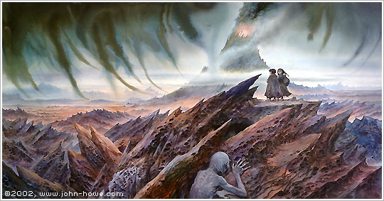 Mount Doom © 2002 John Howe. Website: www.john-howe.com