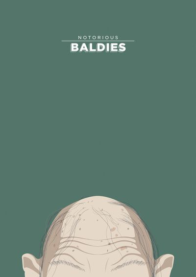Notorious Baldies - Gollum by Mr Peruca