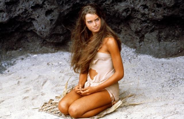 Blue Lagoon (1980) Brooke Shields a 15 anni. Io ne avevo 12: ho rischiato seriamente la cecità.