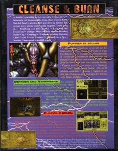 Retro della confezione di Space Hulk, Cliccare sull'immagine per l'alta risoluzione
