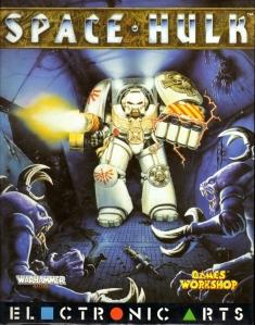 Fronte della confezione di Space Hulk, Cliccare sull'immagine per l'alta risoluzione