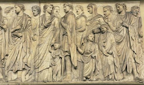 La Famiglia imperiale. Fregio dell'Ara Pacis (http://www.arapacis.it)/