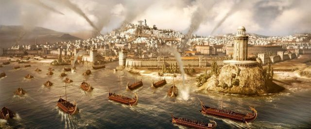 Total War Rome-II: l'assedio di Cartagine.