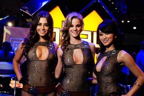 E3 2011 - G4 booth babe. Un esempio delle sventole che si aggirano per gli stand.