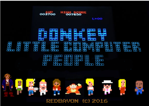 Donkey-Little-Computer-People by RedBavon, 2016 - redbavon.wordpress.com
