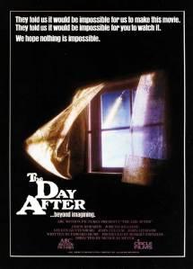 The Day After (poster americano). Chi riconosce la citazione nel videogioco The Last of Us, ha la mia smodata stima.