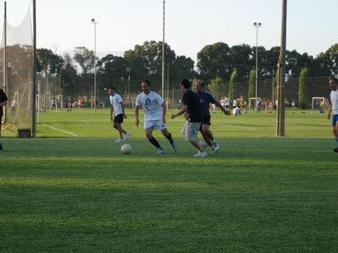 Da sinistra a destra: Luca, Massimo, Lucio, Claudio F. (non sono io), Gianluca
