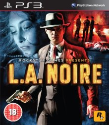 L.A. Noire copertina Playstation 3