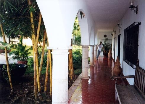 Valladolid - Il porticato di El Mesón del Marqués