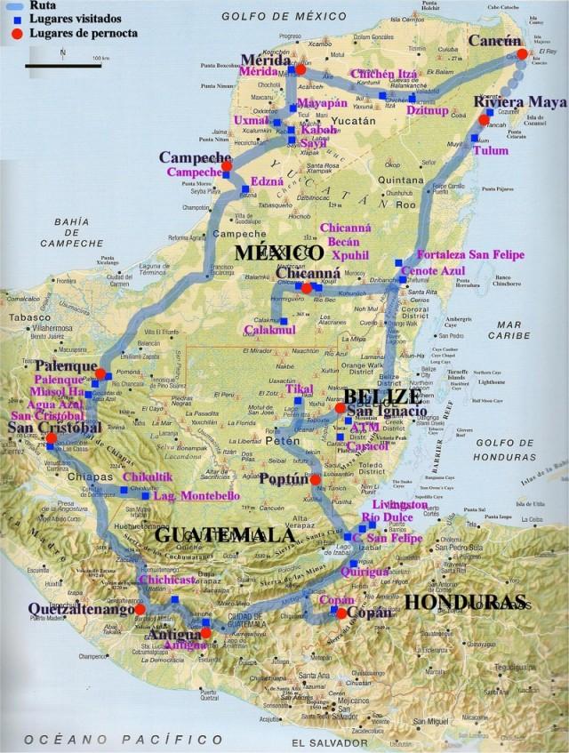"""La Ruta Maya: un viaggio """"on the road"""" sulle orme dei Maya, un tour archeologico e non solo"""