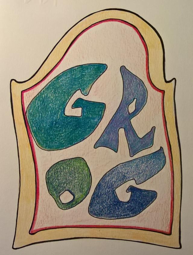 Etichetta del Grog (c)2016 Disegno di Tati