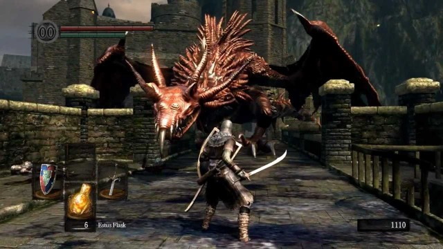 Draghi in Dark Souls (c) 2011 From Software per PlayStation 3