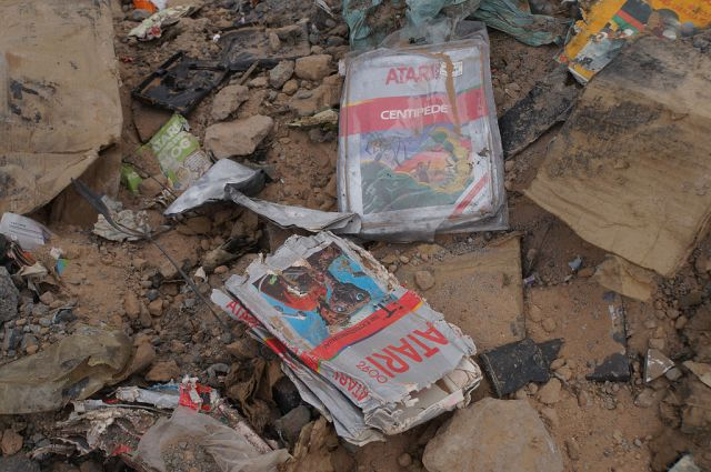 What Atari buried, beyond E.T. (Alamogordo, New Mexico) foto di taylorhatmaker