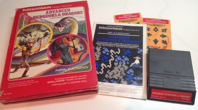Il mio tessssoro: Advanced Dungeons & Dragons