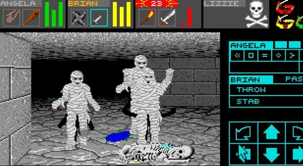 """Dungeon Master pubblicato nel 1987 prima su Atari ST fu per circa un anno causa di parecchi travasi di bile degli """"Amighisti"""""""