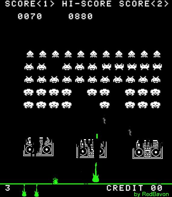 Space Invaders non vennero in pace e noi gliele...suonammo!