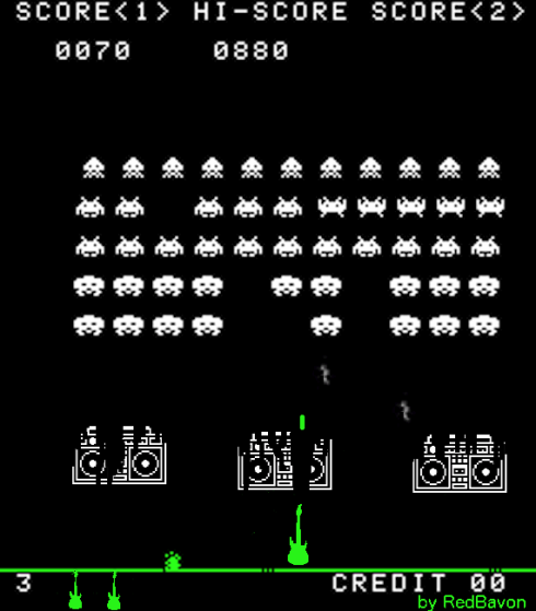 Space Invaders non vennero in pace e noi gliele...suonammo!