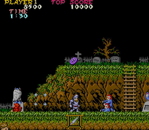 Ghosts 'n Goblins - (1985, Capcom)
