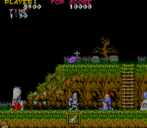 Ghosts 'n Goblins - (1985, Capcom)