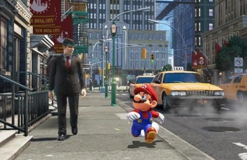 Super Mario Odyssey su Nintendo Switch....