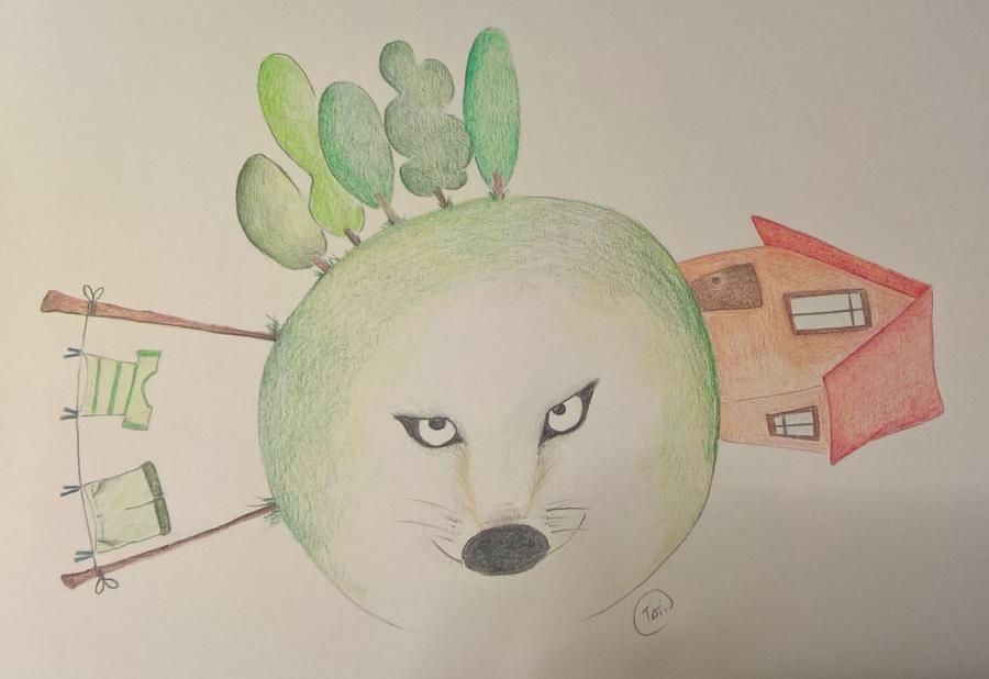 Il Piccolo Cocomero (c)2017 Disegno di Tati