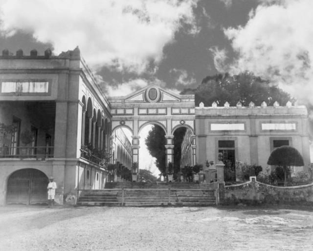 L'Hacienda Yaxcopoil nel 1900 [foto tratta da yaxcopoil.com]