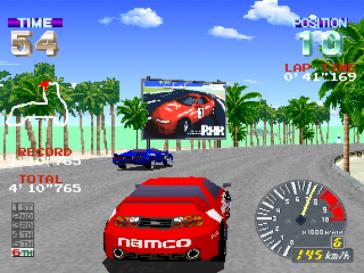 L'arte della derapata (Ridge Racer Revolution, PSX, 1996)