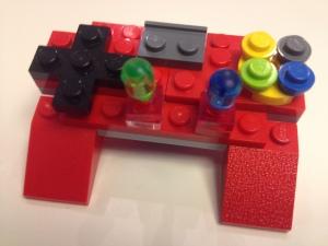 LEGO PlayStation 3 joypad - ideato e realizzato da RedBavon & D.J. sons