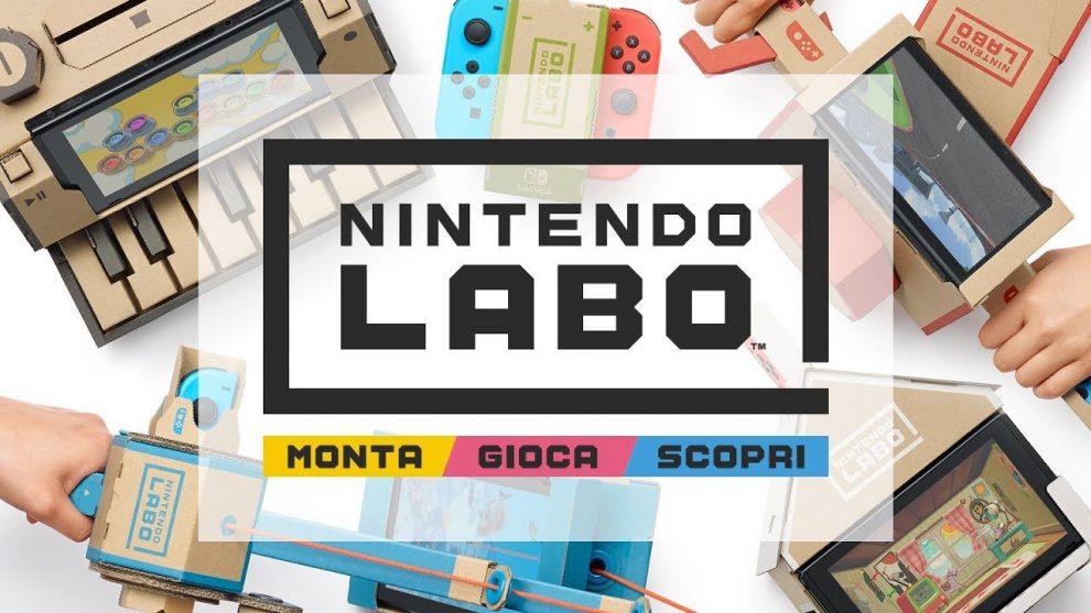 Nintendo Labo! Metterò pace tra il videogioco e tua moglie.