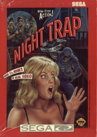 Night Trap per Sega CD