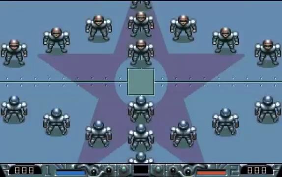 Schermata di Speedball 2 - Calcio d'inizio