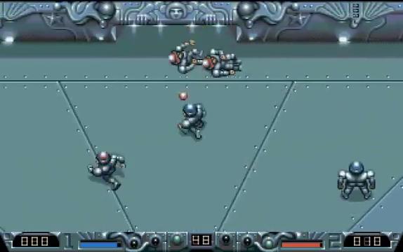 Schermata di Speedball 2 - Palla elettrificata